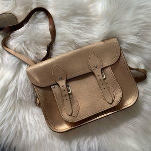Cambridge Satchel Company Bag in Rose Gold